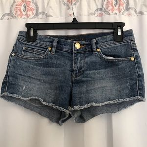 3/$25 Juicy Couture Short Jean Shorts 24